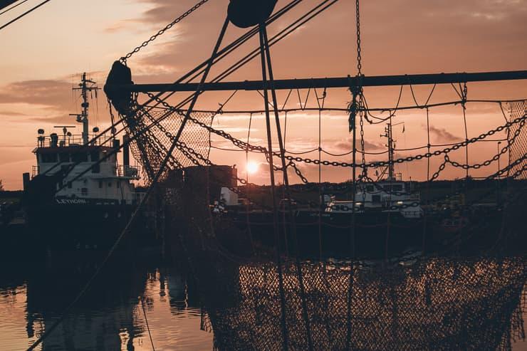 Ostfriesland Norddeich Sonnenuntergang