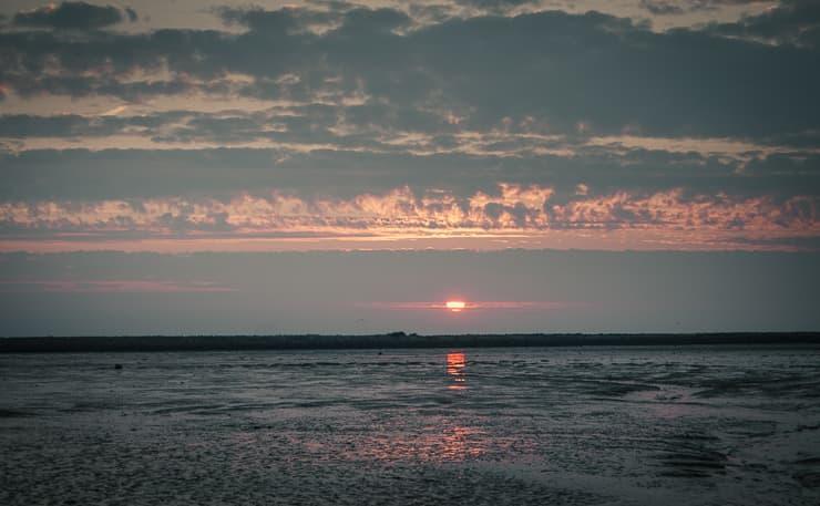 Ostfriesland Langeoog Sonnenaufgang
