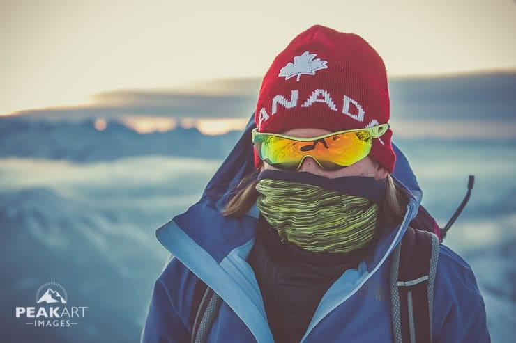 Rotwand Kälte und Wind
