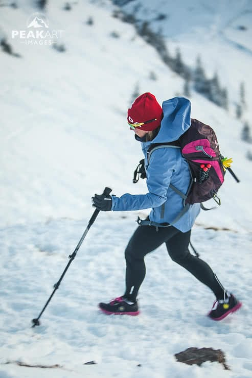 Rotwand Aufstieg zum Gipfel