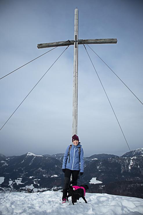 Staffel Gipfel Blick über Jachenau