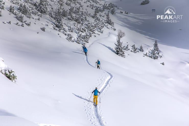 Ortovox Tourenlehrpfad zielgruppe Skitourengeher