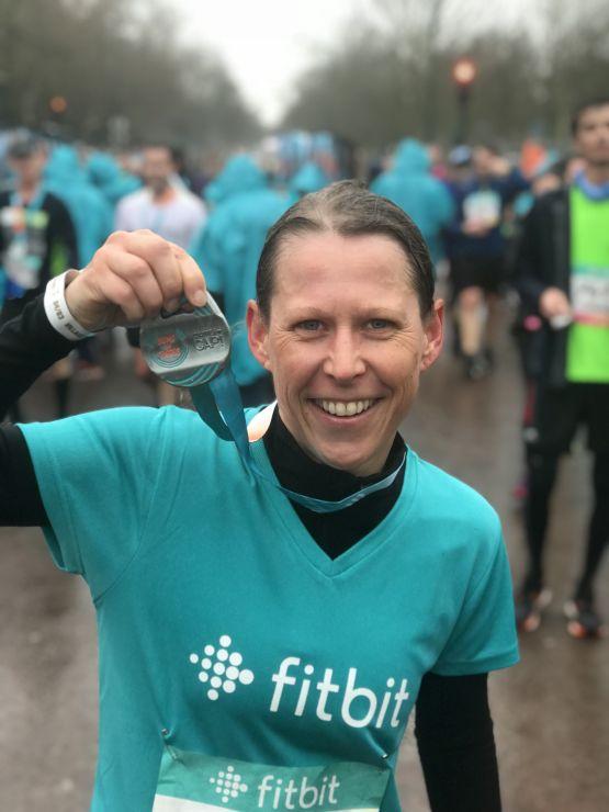 Paris Halbmarathon medaille