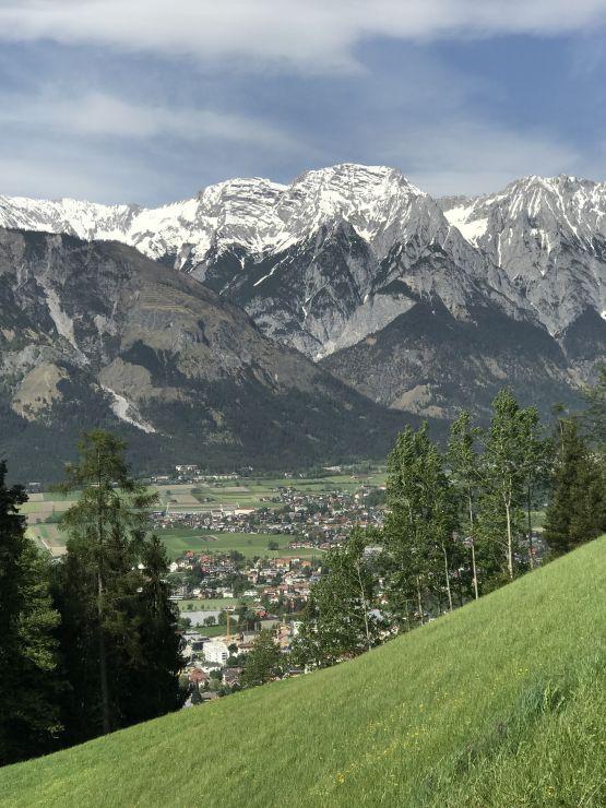 innsbruck alpine trail bergpanorama