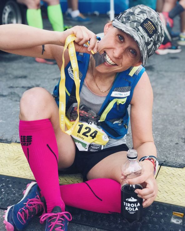 innsbruck alpine trail medaille