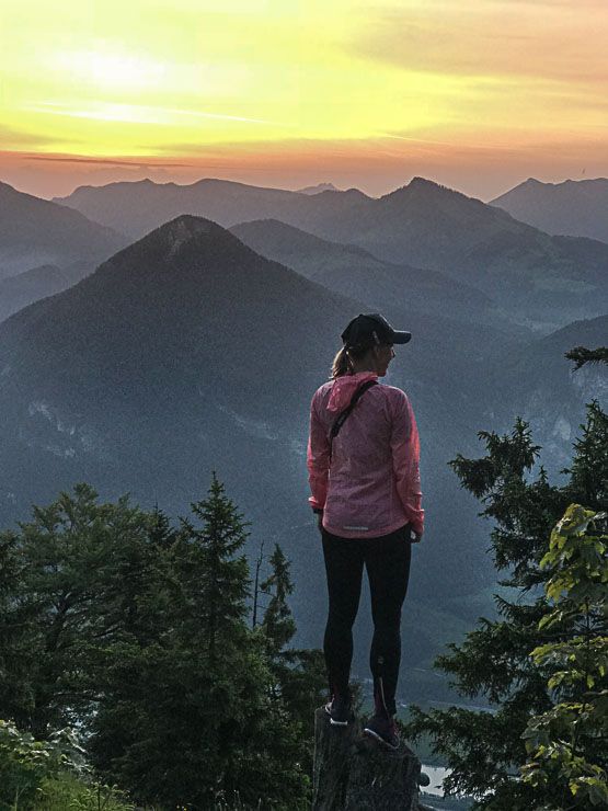 Wildbarren blick vom Gipfel