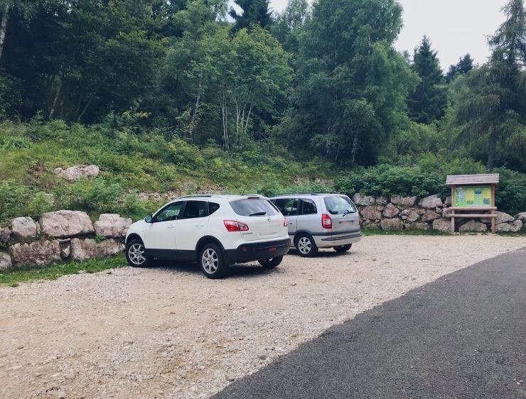 Monte Altissimo parkplatz