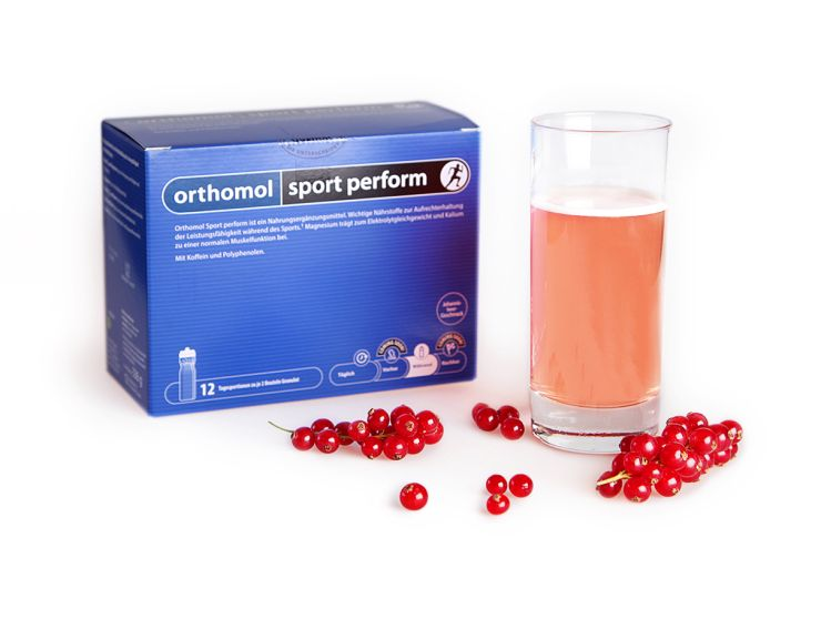 orthomol sport perform pulver