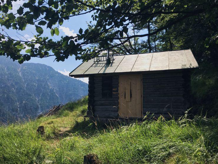 Wanderung zum tauern, tirol jagdhuette