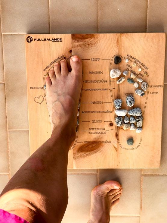 full balance fußreflexzonenmassage brett uebungen