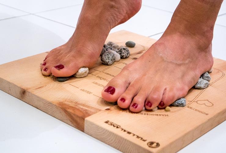 full balance fußreflexzonenmassage pine & stone