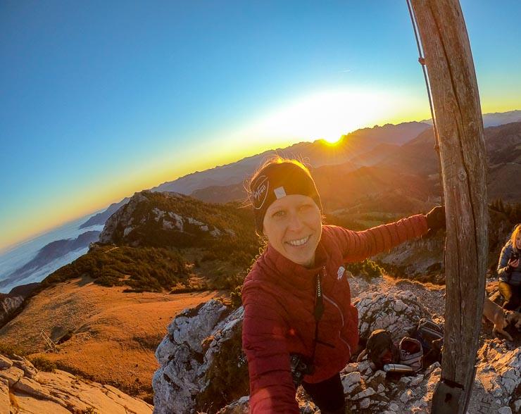 sonnenaufgang lacherspitze panoramablick