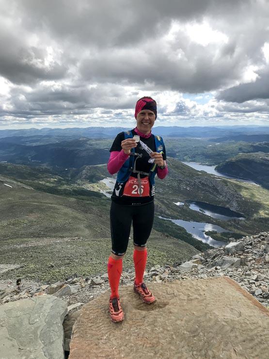 viking challenge gaustatoppen medaille