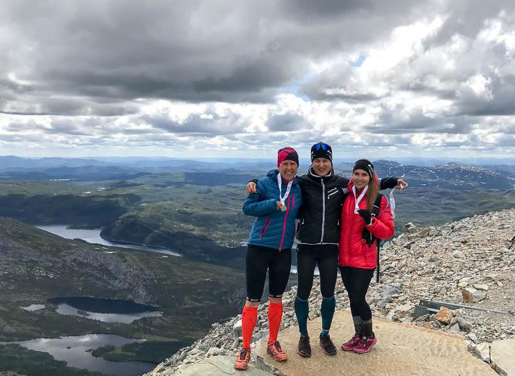 viking challenge gaustatoppen team