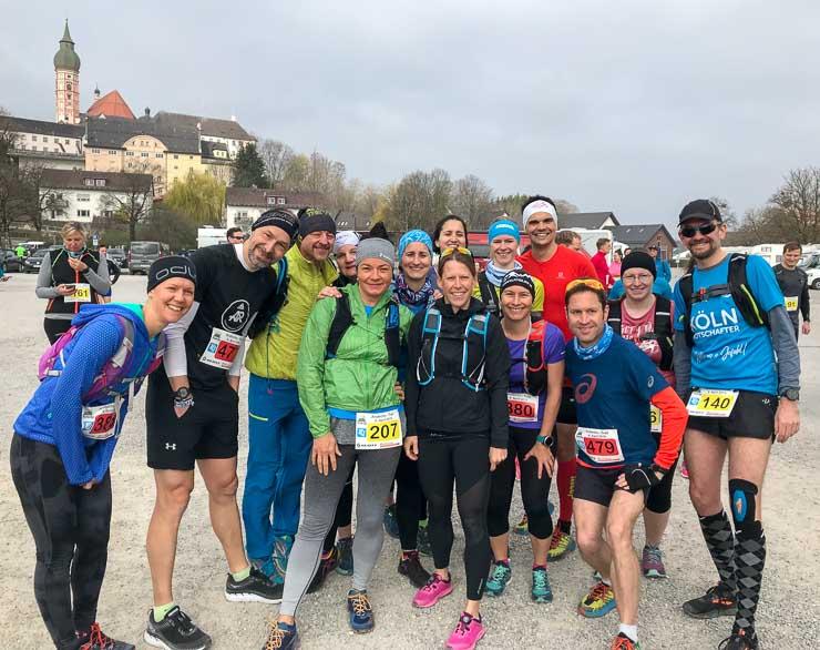 training mit der laufgruppe krakau marathon