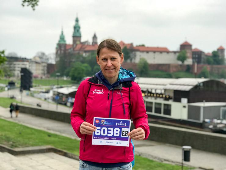 startunterlagen krakau marathon