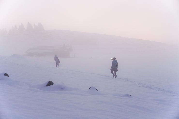 winterwanderung frasdorfer huette