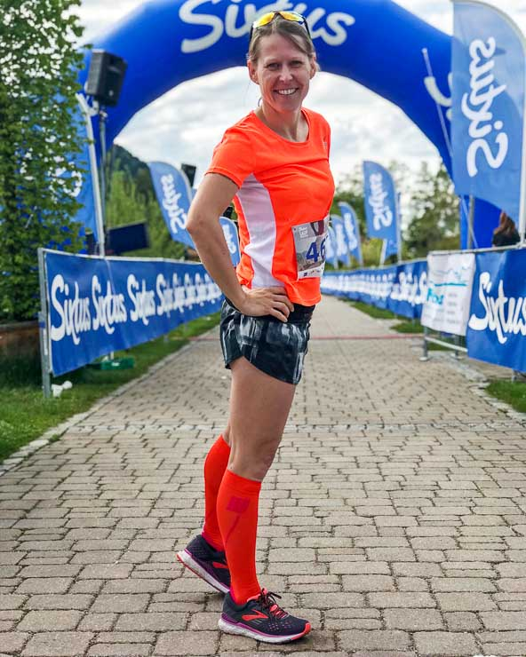 ziel halbmarathon schliersee lauf