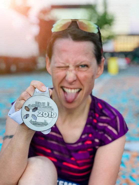 ing night marathon luxemburg medaille