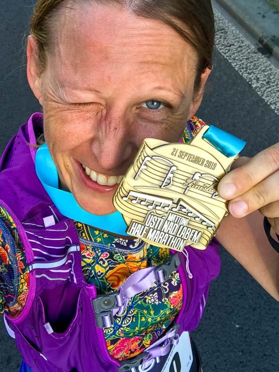 medaille usti nad labem halbmarathon