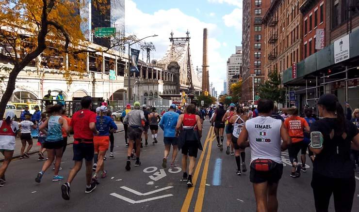 strecke tcs new york city marathon