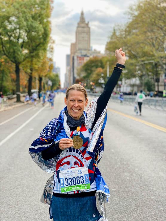 medaille new york city marathon
