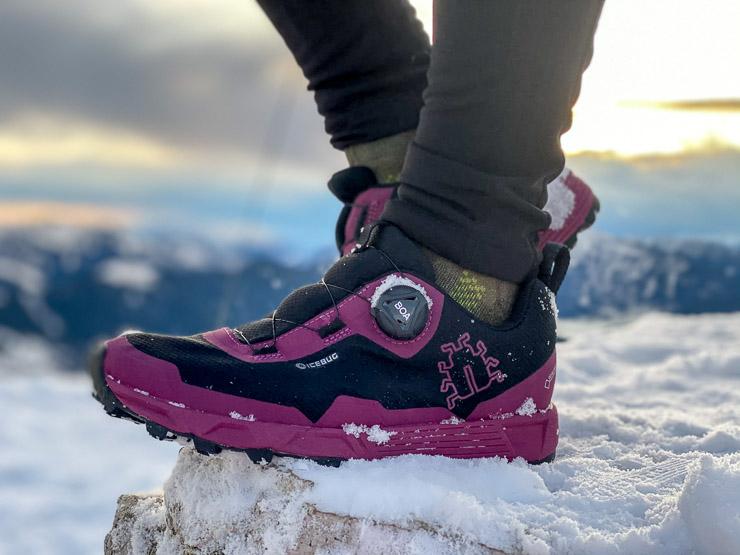 packliste winterwanderung trailschuhe wanderschuhe