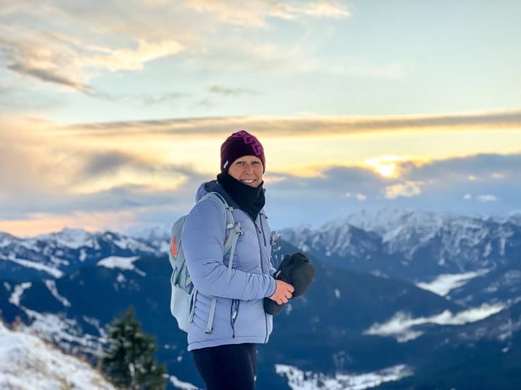 wallberg gipfelbild winterwanderung