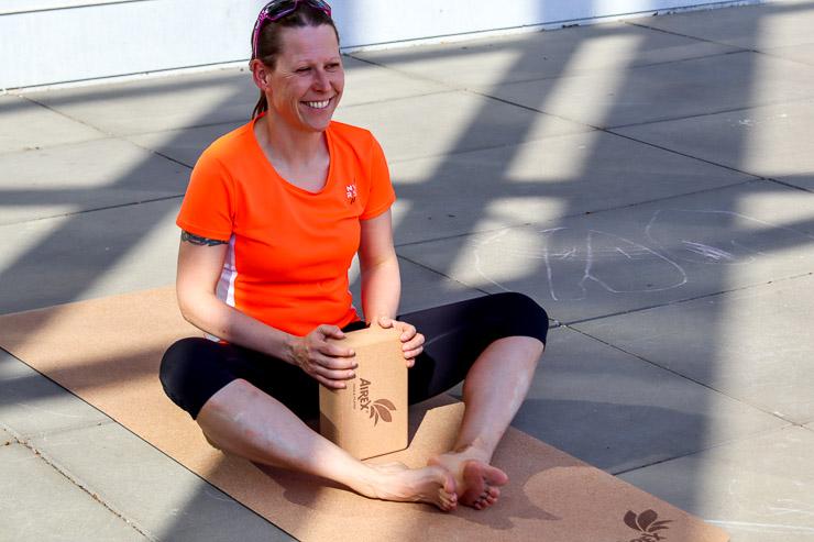 Airex yoga eco cork mat nachhaltige matten