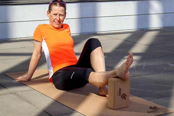 nachhaltigkeit airex yoga matten