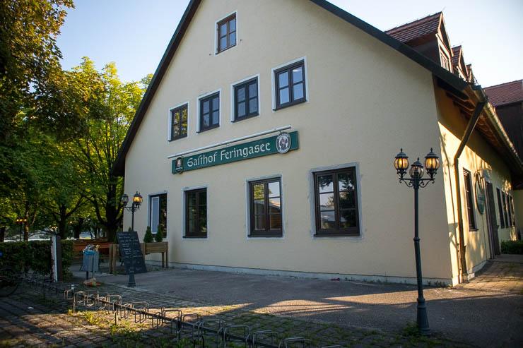 biergarten gasthof feringasee