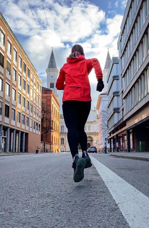 alleine laufen effektives training