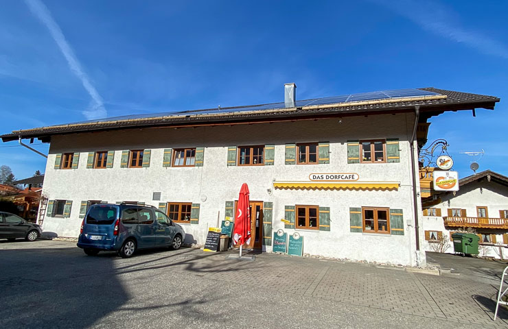 Dorfcafe in Grainbach zum frühstück