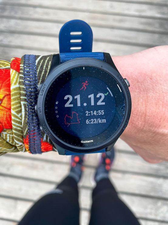garmin forerunner 945 halbmarathon staffelsee